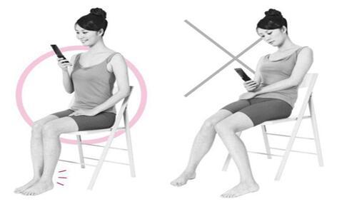 哪些不良坐姿会导致颈椎病